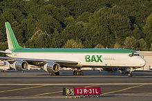 Aircraft Picture - BAX Global DC-8-71(F) at Boeing Field