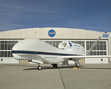 Aircraft Picture - A Global Hawk at NASA's Dryden Flight Research Center