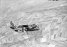 Aircraft Picture - RAF Boston III from No. 88 Squadron RAF over Dieppe, 1942