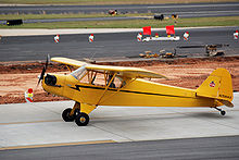 Aircraft Picture - A Piper Cub