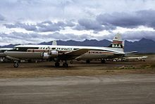 Aircraft Picture - A DC-6B N7919C belonged to Reeve Aleutian Airways in 1972