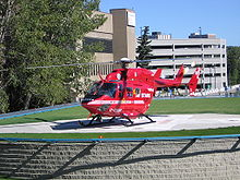 Aircraft Picture - STARS Air Ambulance at Foothills Medical Centre