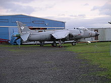 Aircraft Picture - Sea Harrier FA2 ZE694 at the Midland Air Museum