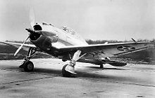 Aircraft Picture - Seversky XP-41