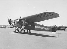 Aircraft Picture - The Southern Cross in 1943.