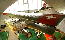 Aircraft Picture - Preserved D.VII in Swiss markings