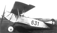 Aircraft Picture - Interned Fokker D.VII in Swiss markings