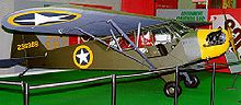 Aircraft Picture - L-4A painted and marked to represent an aircraft that flew in support of the Allied invasion of North Africa in November 1942
