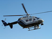 Aircraft Picture - Western Australia Police BK 117