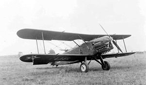 Aircraft Picture - Douglas XA-2 with removed cowling on the lower nose to enhance engine cooling