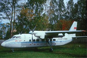 Aircraft Picture - Aeroflot Beriev Be-32