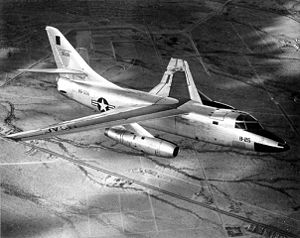 Aircraft Picture - A Douglas B-66B (53-506) in flight