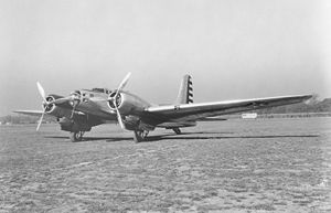 Aircraft Picture - A B-23 Dragon in USAAC markings during the early 1940s