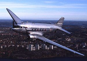Aircraft Picture - A DC-3 operated by Flygande Veteraner in Sweden