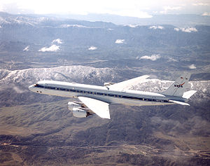Aircraft Picture - NASA Dryden DC-8 airborne laboratory refitted with CFM56 turbofan engines
