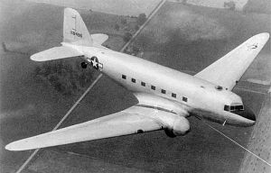 Aircraft Picture - The XCG-17 during towed flight