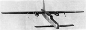 Aircraft Picture - Wind tunnel model of the final configuration.