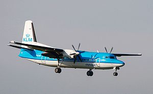 Aircraft Picture - Fokker 50