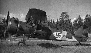 Aircraft Picture - Finnish Fokker C.X