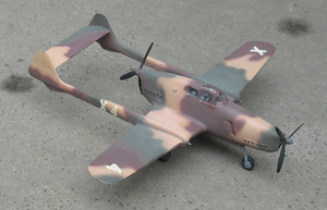 Aircraft Picture - Model of the D.XXIII