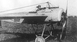Aircraft Picture - The first production Fokker E.II