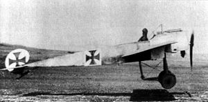 Aircraft Picture - Fokker E.III taking off