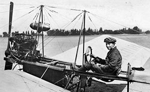 Aircraft Picture - Fokker in his Spin