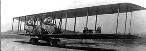 Aircraft Picture - The G.V prototype on the day of its first flight, 9 May 1918