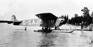 Aircraft Picture - G-CAJD from Western Canada Airways, c.1928