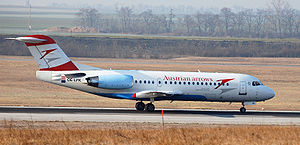 Aircraft Picture - Austrian Arrows Fokker 70