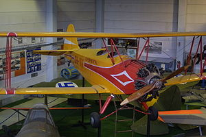 Aircraft Picture - VL Viima II at the Helsinki Aviation Museum