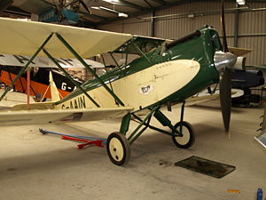 Aircraft Picture - Parnall Elf, G-AAIN.