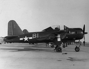 Aircraft Picture - An FR-1 Fireball of VF-66 at NAS North Island, 1945