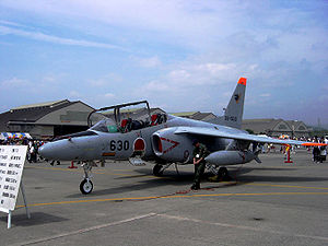 Aircraft Picture - T-4 in MCAS Iwakuni on Friendship Day
