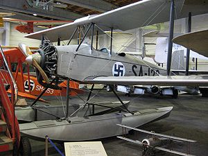 Aircraft Picture - Preserved VL Sx�x�ski II at the Finnish Aviation Museum