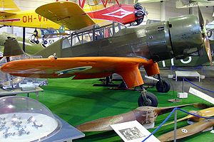 Aircraft Picture - VL Pyry at the Finnish Aviation Museum