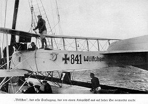 Aircraft Picture - The Wilfchen (Little Wolf) aboard SMS Wolf (auxiliary cruiser).