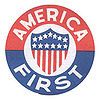 Aviation History - The logo for the America First Committee