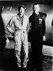 Aviation History - AP Photo of Amelia Earhart and Fred Noonan, Los Angeles, May 1937