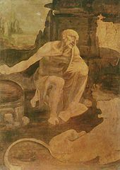 Leonardo da Vinci - Unfinished painting of St. Jerome in the Wilderness, (c. 1480), Vatican
