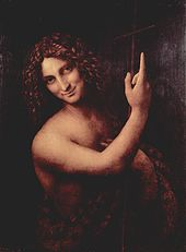 Leonardo da Vinci - Salai[citation needed] as John the Baptist (c. 1514)-Louvre
