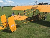 Aviation History - Edvard Rusjan - Replica of Rusjan airplane Eda V
