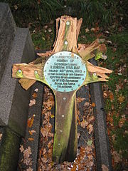 Aviation History - Edwin Moon - Moon's grave marker