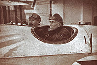 Aviation History - Gago Coutinho - Gago Coutinho and Sacadura Cabral on board of the Lusitx�nia.
