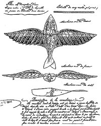 Aviation History - Jean-Marie Le Bris - The 1857 flight patent by Le Bris