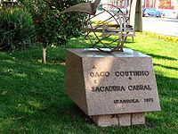Aviation History - Artur de Sacadura Cabral - Monument to Sacadura Cabral and Gago Coutinho in Grx�ndola (Portugal)