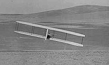Aviation History - The Wright Brothers - Wilbur makes a turn using wing-warping and the movable rudder, October 24, 1902.