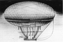 Airplane Picture - Meusnier's dirigible