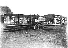 Aviation History - Giacomo D'Angelis and his biplane