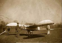 Aviation History - The first successful monoplane, built in January 1907